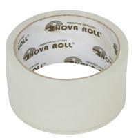 Скотч прозрачный NovaRoll 40мкм, 48мм*40м