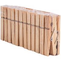 Прищепки для белья деревянные Рыжий кот 24 шт