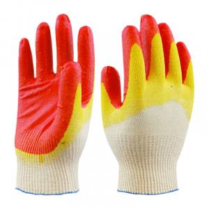 Перчатки х/б, двойной облив